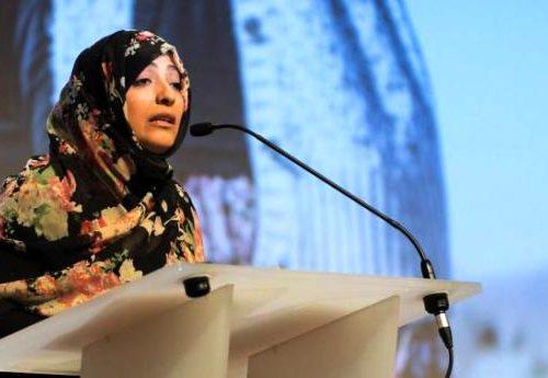 """L'attivista e premio Nobel per la Pace Tawakkol Karman: """"Il mio Yemen muore nel silenzio e con la complicità del mondo"""""""