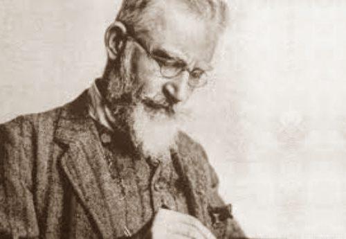 Oggi, il 26 luglio del 1856, nasceva George Bernard Shaw – Lo ricordiamo con alcuni dei suoi più acuti, ironici e pungenti aforismi…