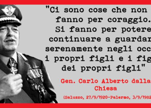 """""""Qui è morta la speranza dei palermitani onesti"""" – Il 3 settembre del 1982 la mafia uccideva Carlo Alberto Dalla Chiesa"""